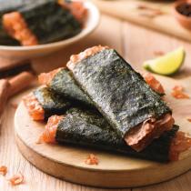 香脆海苔肉捲-買三送一-肉乾系列可混搭