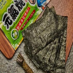 元氣燒味付海苔-芥末風味(非素食)【89元/起】